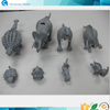 Mini plastic 3d model cute toy with various animals