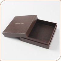 embossing top and bottom gift box with lids