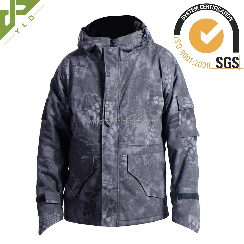 military outdoor combat winter hunting jacket
