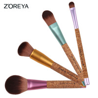4pcs eco-friendly oval brush free samples brushes makeup