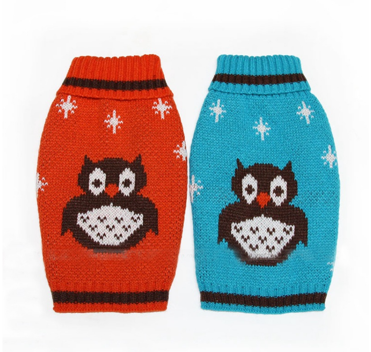 Fashion owl pictured pet sweaters, fashion dog sweaters, dog clothes