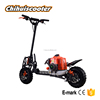 Gasoline scooter with 71cc engine and disc brake