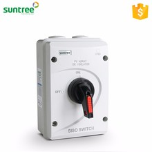 Suntree SISO-40 DC Solar Electrical Isolation Switch Socket 63A 1000V Isolator SAA CE