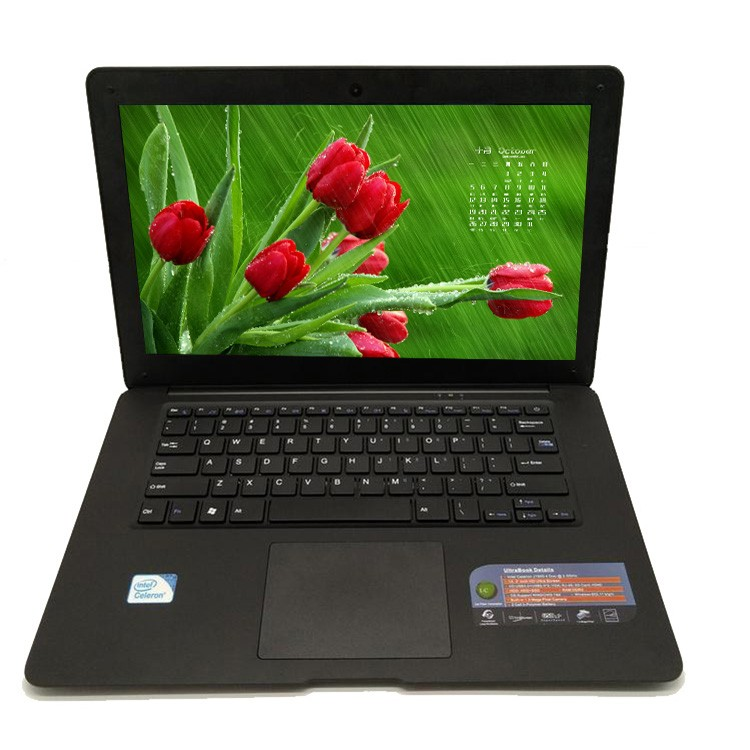Very cheap wholesale ultrabook 14inch intel celeron J1900 quad core 2G 320G laptops