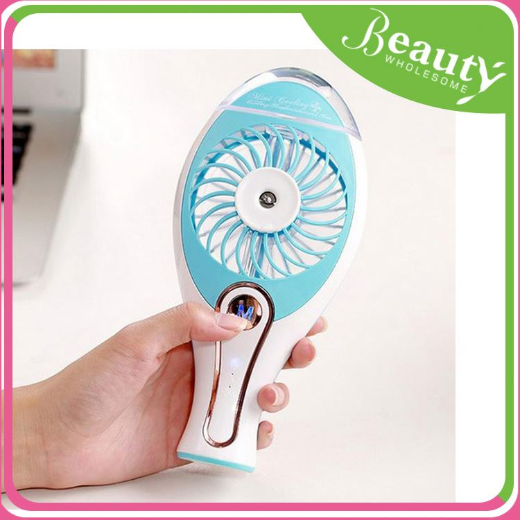 Mini portable air cooler ,swup mini mist spray hand fan