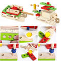 Wooden Tool Carpenter Box Set Toy Educational Kits For Birthday, Party