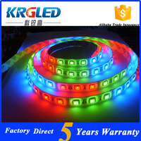 china supplier rgbw 24 volt led strip light 5050 12v