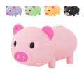 cartoon pvc pig shape usb flash drive, cute animal shape memory stick