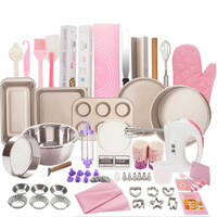 2019 Complete Cake Baking Set Bakery Tools for Beginner Adults Baking sheets bakeware sets baking tools set