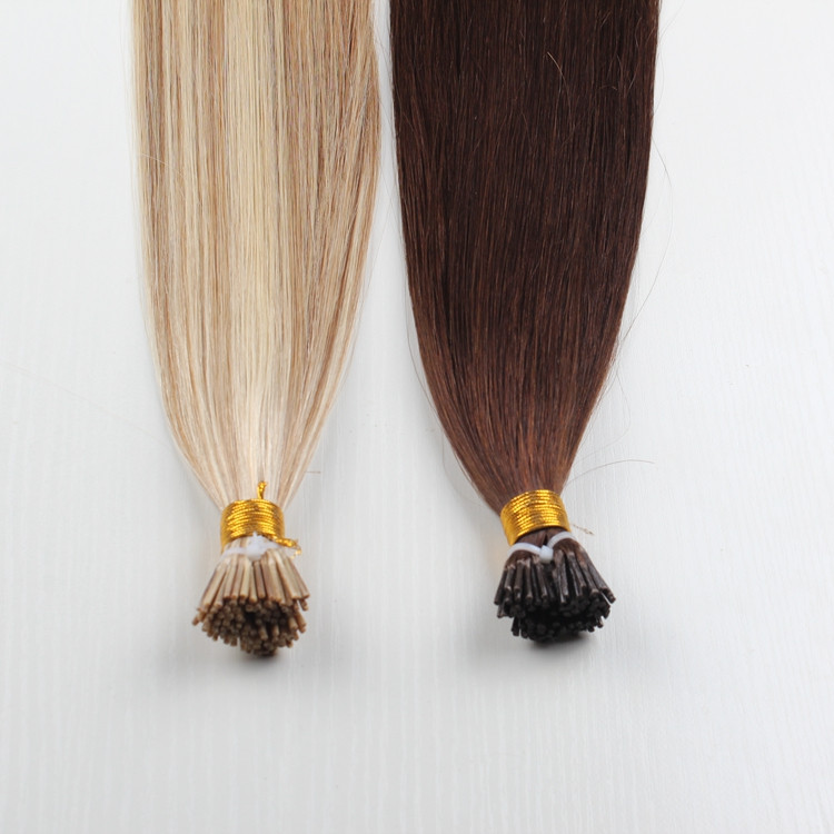 Italy glue hair extension Brilliant Straight Pre-tiped Pre-bonded I-tip/U-tip/flat-tip hair extensions