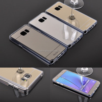 OEM Electroplating Mirror Phone TPU Case for Samsung Galaxy Note 5
