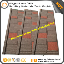 Indonesia hot sale stone coated steel roof tile with factory price