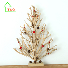 2016 Unique Creative Wooden handicrafts Christmas Tree decoration,names handicrafts