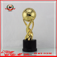 High Quality Hot Aale Customized Metal Globe Trophy And Awards