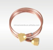 Capillary copper tube with nuts, Seamless copper fitting
