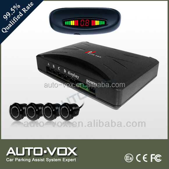 Car rear roof reverse parking sensors with buzzer alarm