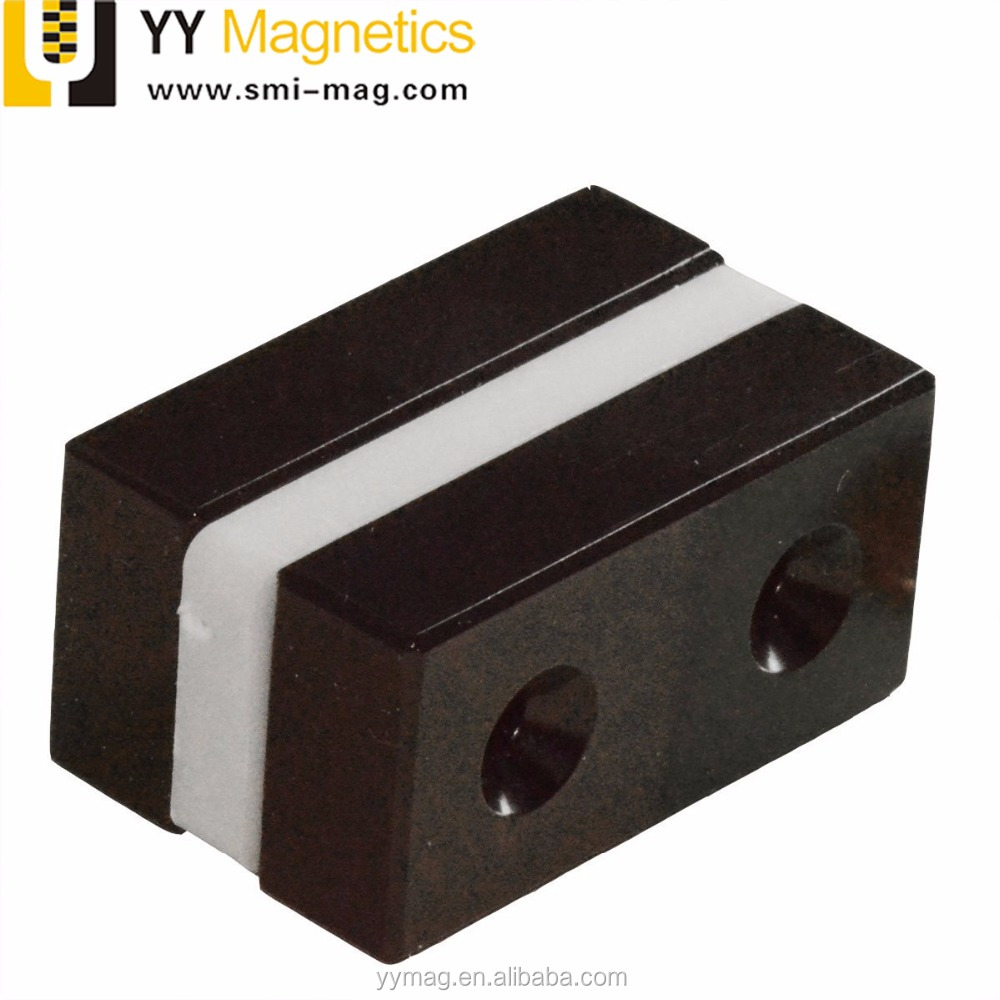 n52 epoxy coating neodymium block magnets with holes for sale