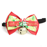 Pet Accessories Ornaments Bowknot Jingle Bell Handmade Dog Bow Ties Wholesale