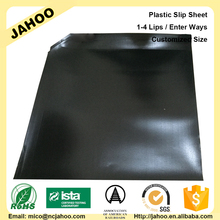 Shanghai Factory SGS Pull And Push Pallet Plastic Slip Sheet Double Faced 500KG
