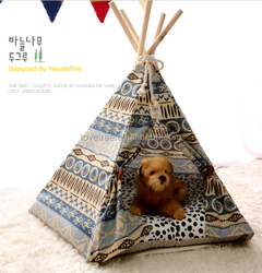 Lovetree foldable pet tent nylon pet folding tent collapsible soft dog crate