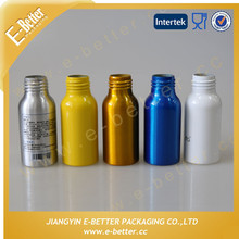 Colored Cosmetic Bottle 50ml Aluminum Bottle for Woman