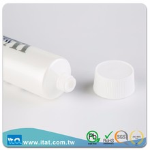 Taiwan manufacturer skin care toothpaste screw cap plastic tube