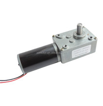hot sale ASLONG DC 12 volt worm gear motor with high torque self-locking intelligent robot low noise electric motor