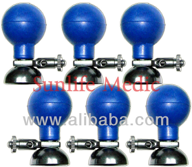 ECG ELECTRODE SUCTION BALLS