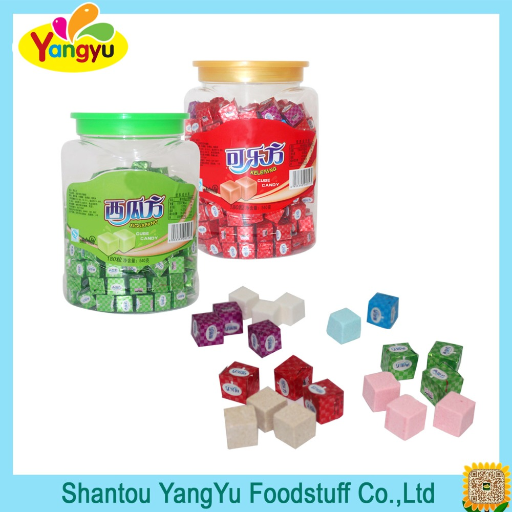 Cube milk candy sweet milk cheese candy