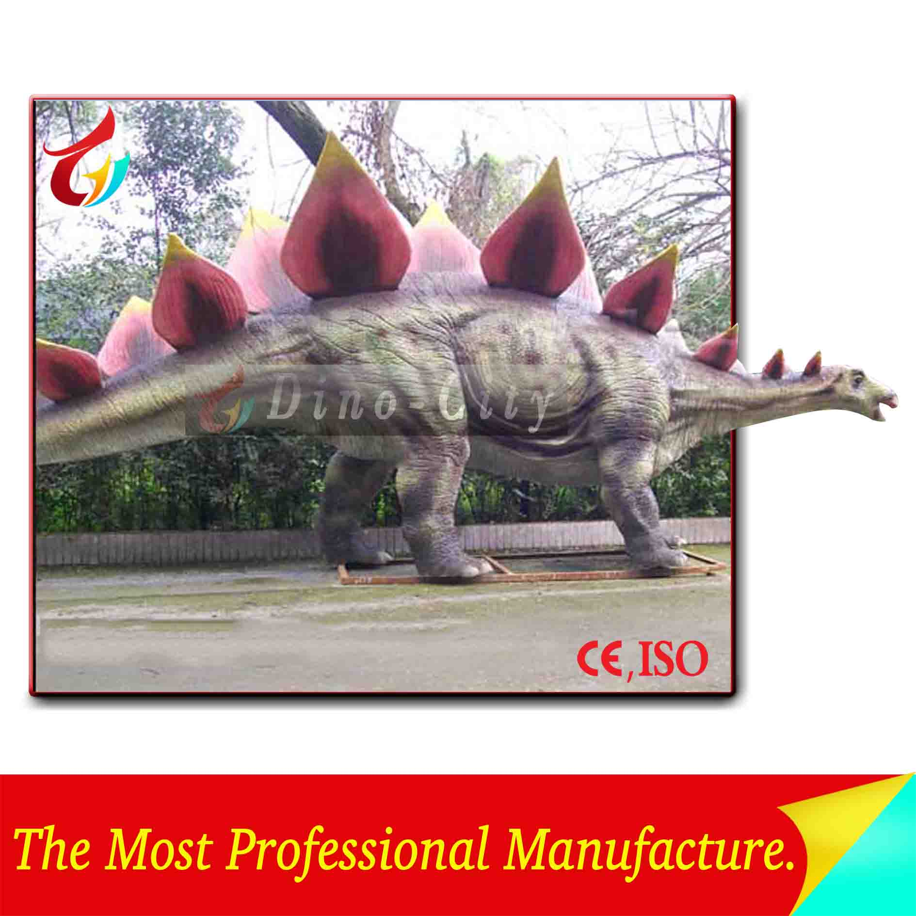 Animal Playground Equipment of Life Size Remote Control Mechanical Dinosaurs