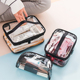 Women Travel Makeup Beauty Wash Organizer Toiletry PVC Bath Cosmetic Bag