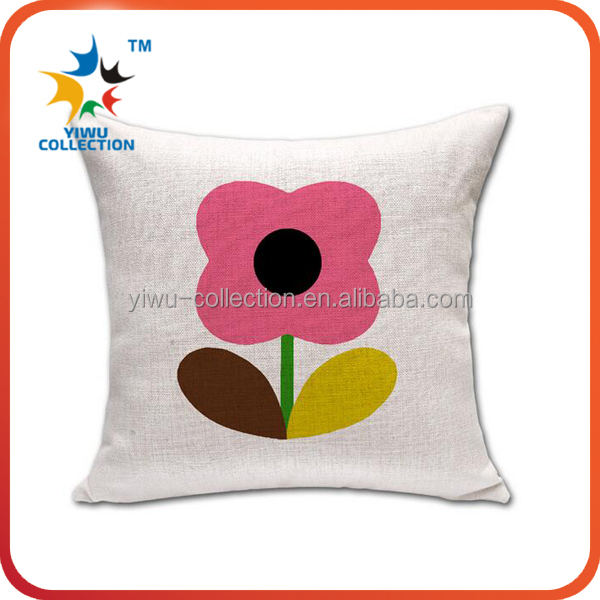 machine embroidery designs cushion cover/silk cushion cover/flower pillow cover