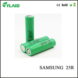 18650 li-ion best price rechargeable batteries for Samsung 25R INR18650-25R 20A 2500mah electric bicycle 18650battery
