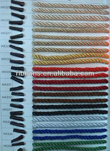 gold&silver wire rope 16-Strand Diamond Braided Nylon Fihing Line Breaking Strength