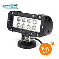 6.5 inch farm utility vehicle light bar 4x4 offroad vehicle led working light bar sm6022-16