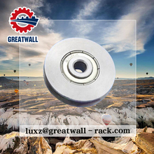 Greatwall V- belt type aluminum metal pulley stainless steel pulley wheel with door & windows accessories type
