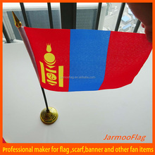 desktop small table country flag