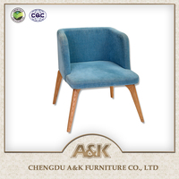 Hot Sale Living Room Furniture Wood Sex Sofa Chair