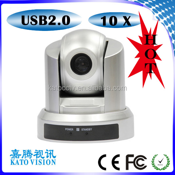 10x optical zoom/usb web Cheap 1080p install digital usb color video conferencing camera