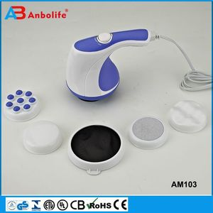 Anbolife body massager magic hot selling pair magnetic hand palm acupuncture plastic hand held massager
