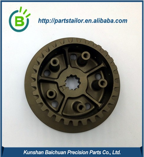 BCL 002 Experienced cnc machined motocycle spare part