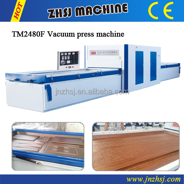 PVC vacuum filming machine
