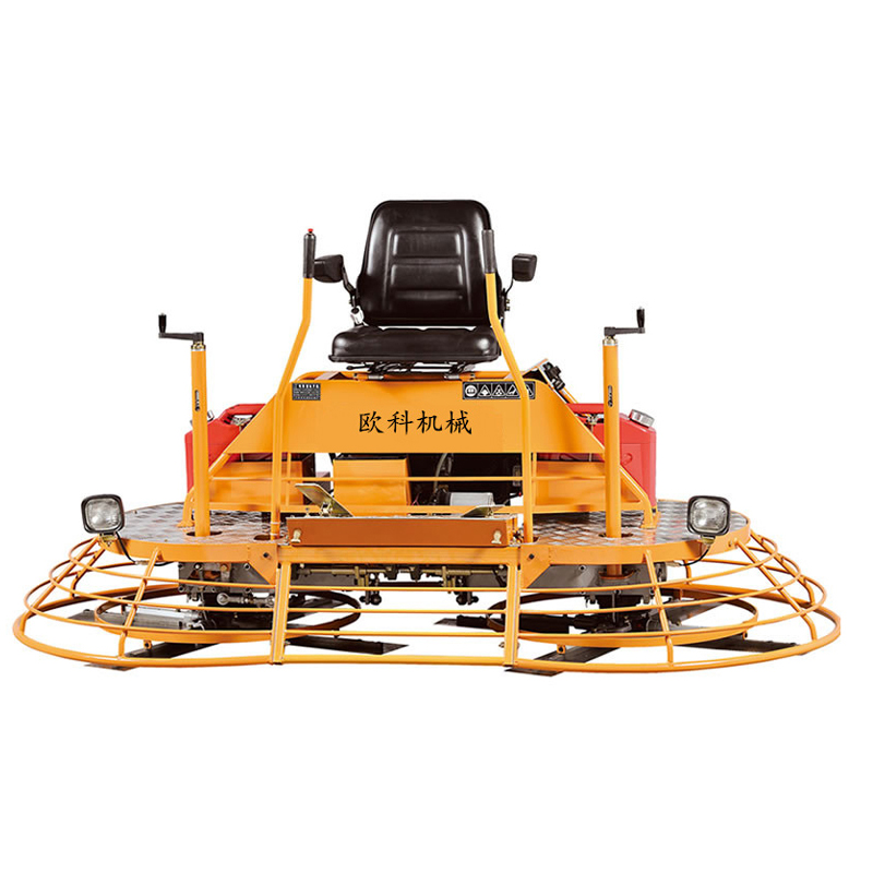 Ride on concrete smoother, concrete power trowel machine