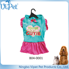 China largest manufacturer design lovely quality dog clothes korea