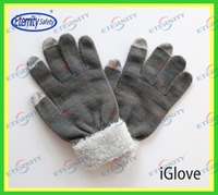keep hands warm when using phone touch glove Cute touch gloves vivid color