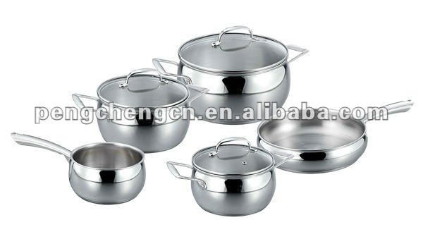 Belly pot stainless steel