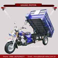 Chinese motorcycle supplier wholesale 150cc 200cc three wheel motorise heavier loading tricycle