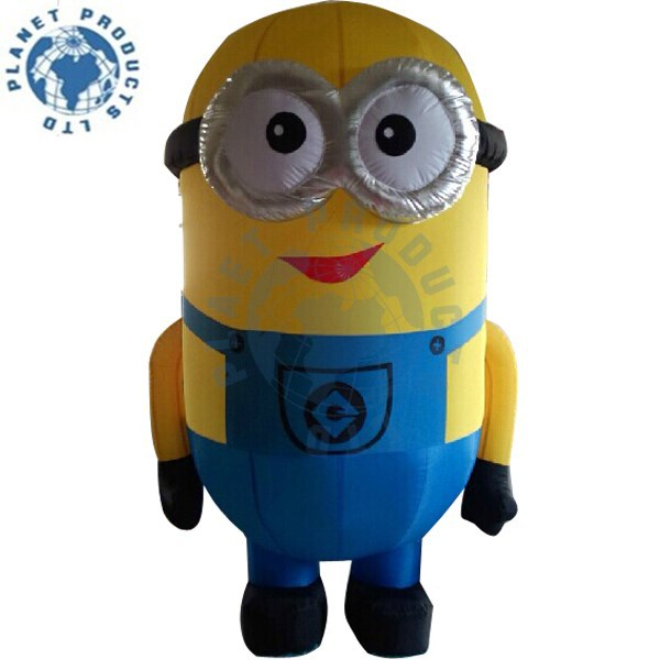 Giant Inflatable Despicable Me Minion For Advertising (PLAD40-061)