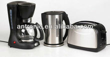breakfast maker set 3 in 1 toaster kettle coffee maker WITH GS CE ROHS hot selling (Model No:ATC-BMS-312)