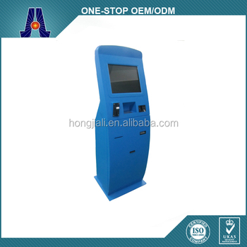 self service touch screen kiosk machine with payment (HJL-3653)